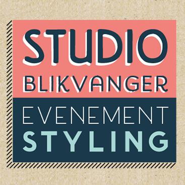 Logo voor Studio Blikvanger Eventstyling