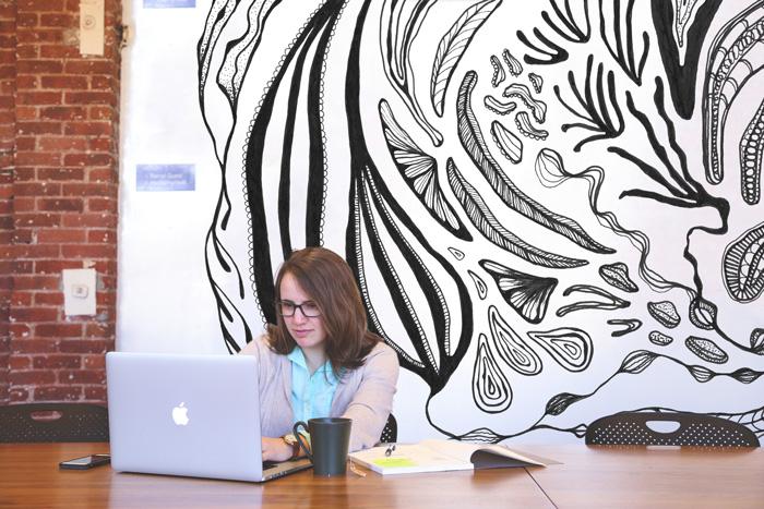 Cora Verhagen mural