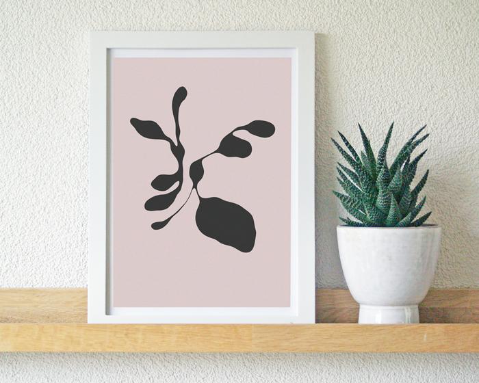 Organic Dancers Cora Verhagen poster