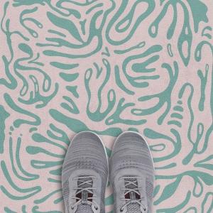 Vloerbedekking, dessinontwerp door Cora Verhagen