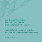 Albert Hadley, rooms not for show