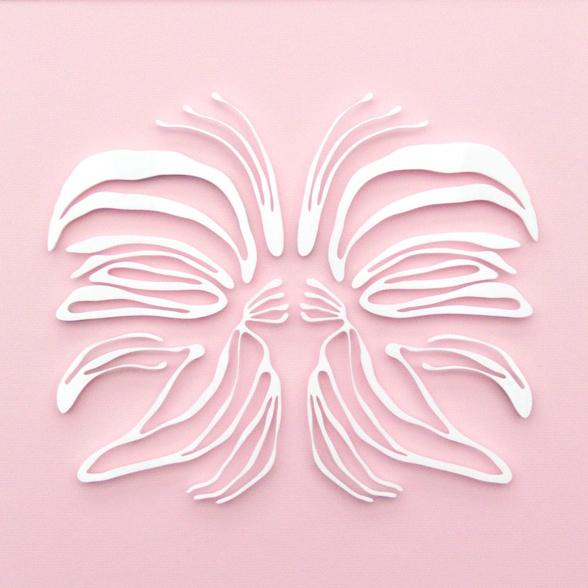 Lasercut, biophilic design, organic art
