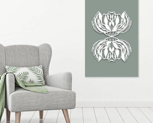 Oh my prints, Werk aan de muur door Cora Verhagen