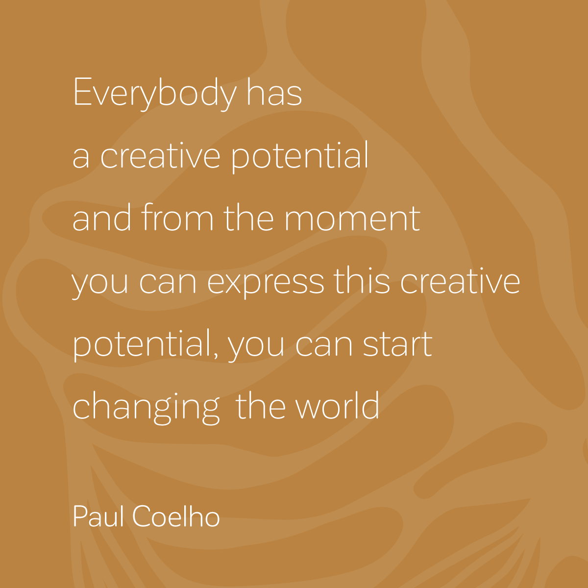 Cora Verhagen - quote Paulo Coelho